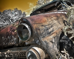 Abandon V8 Ford Junker
