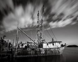 Abandon Fishing Ship