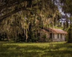 Cattle farmer's ranch house