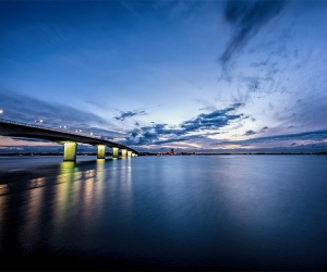 John Ringling Bridge at Sundet