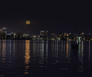 Full Moon Over Sarasota