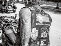 Memorial Parade Biker