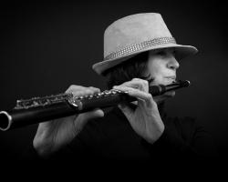 Jane Hoffman Flute Player